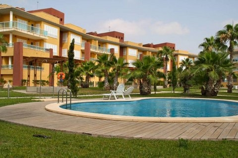 Where is the Hacienda del Álamo Golf Resort?