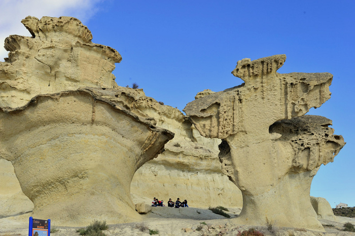 Bolnuevo erosions or Gredas de Bolnuevo