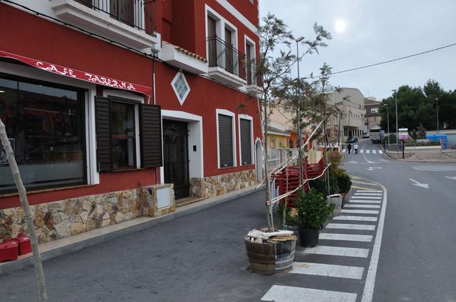 Ayuntamiento de Aledo, the Town Hall and car parking