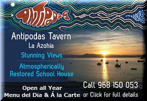 Antipodas Tavern La Azohia Murcia