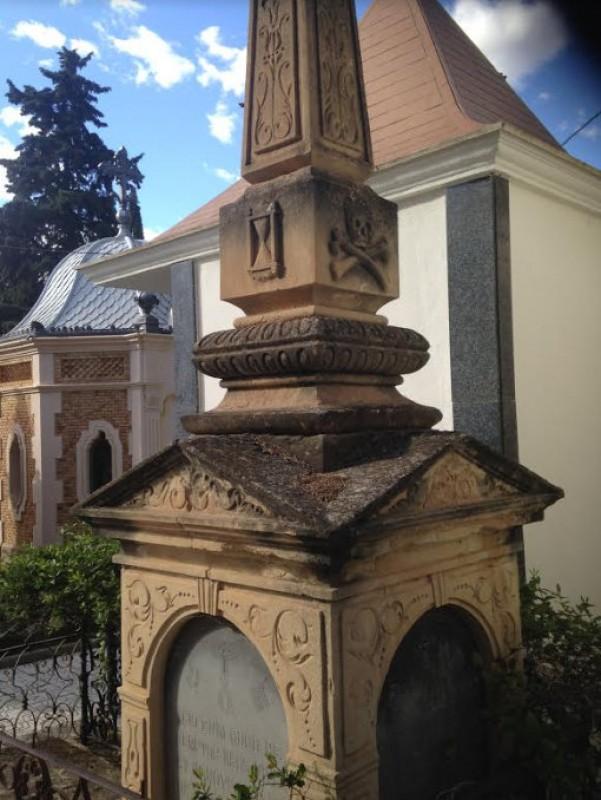 The historic cemetery of Jumilla
