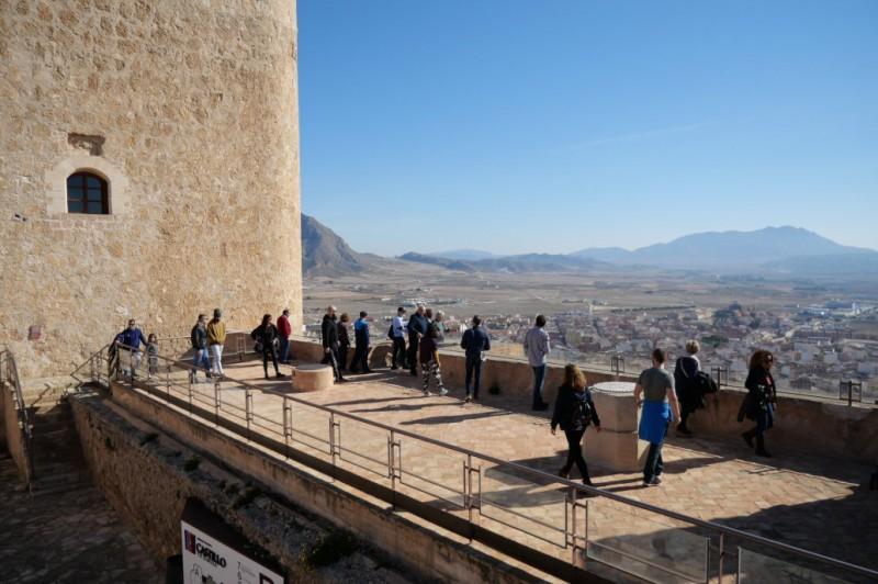 The castle of Jumilla