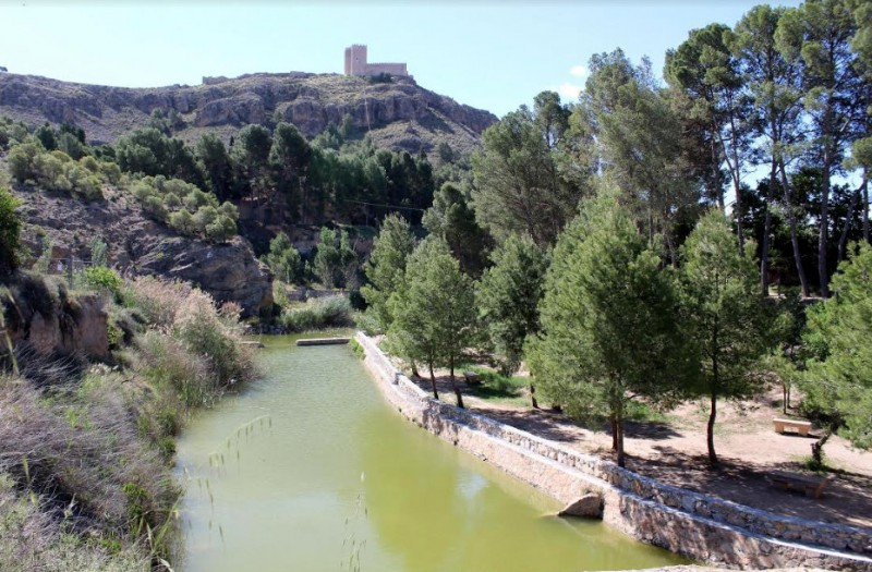 The Charco del Zorro beauty spot just outside Jumilla