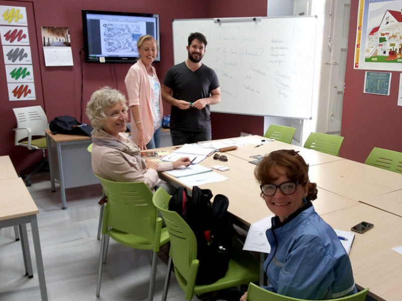 Intensive and long-term Spanish language courses at the Funcarele school in Cartagena