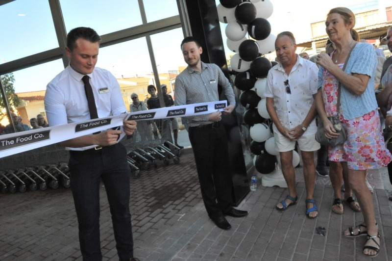 <span style='color:#780948'>ARCHIVED</span> - The Food Co. opens in Puerto de Mazarrón as Tesco products reach the Region of Murcia