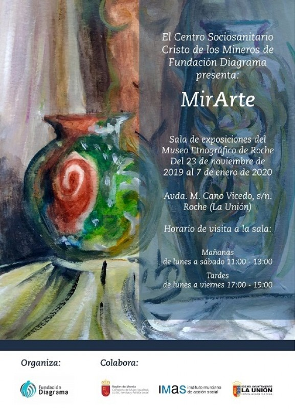 <span style='color:#780948'>ARCHIVED</span> - MirArte Roche, La Unión until 7th January 2020