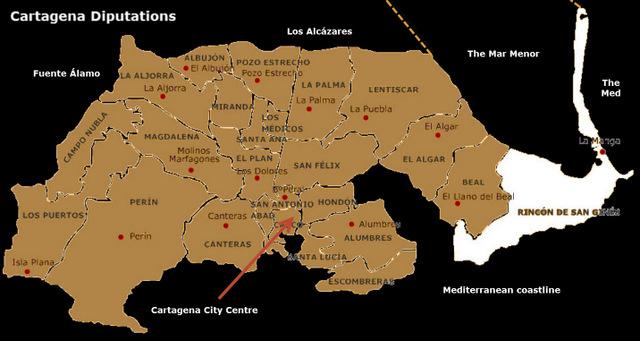 Where is Los Belones