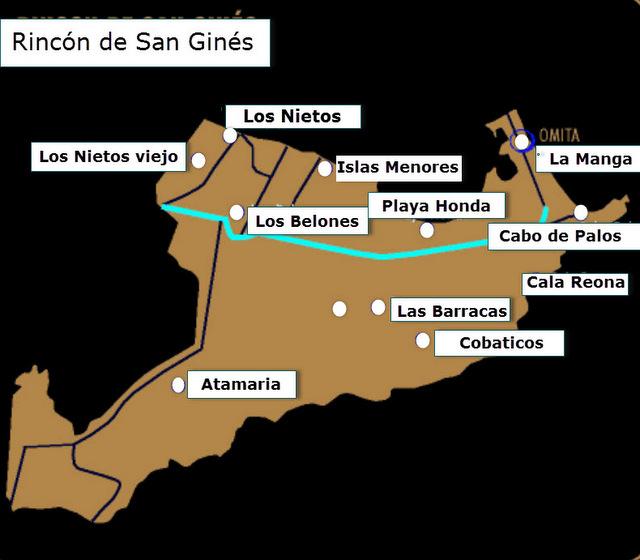Where is La Manga del Mar Menor