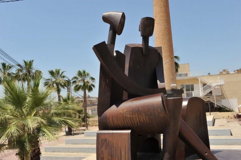Urban sculptures in Molina de Segura