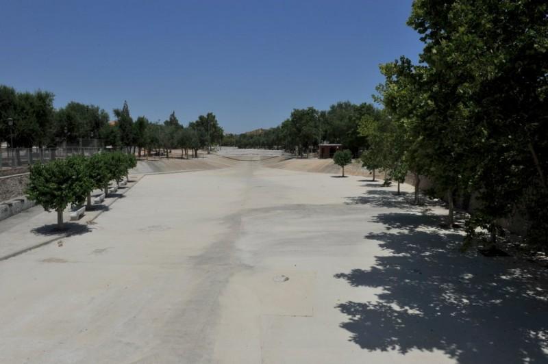 Rambla de los Calderones, a flood channel and public park in Molina de Segura