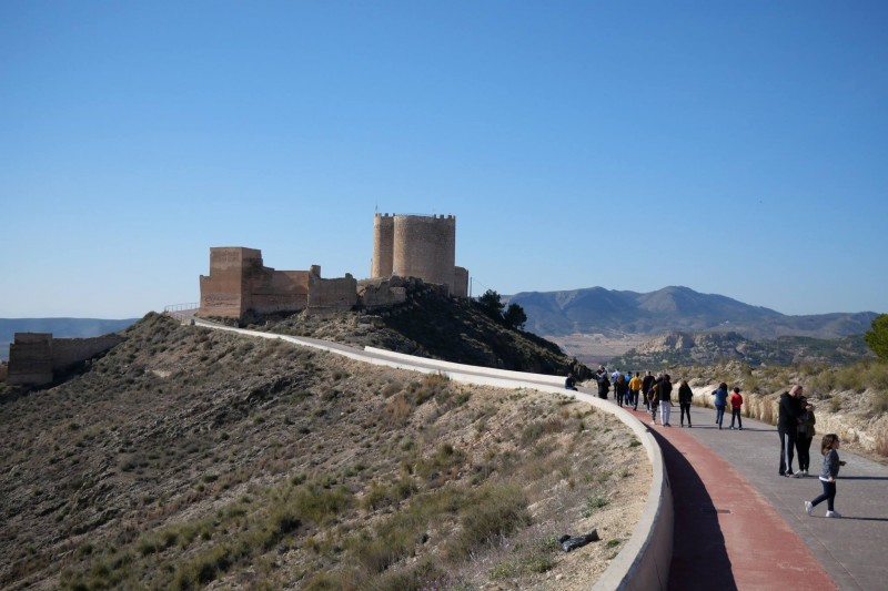 <span style='color:#780948'>ARCHIVED</span> - 18th and 19th January Jumilla: ENGLISH and Spanish language castle tours