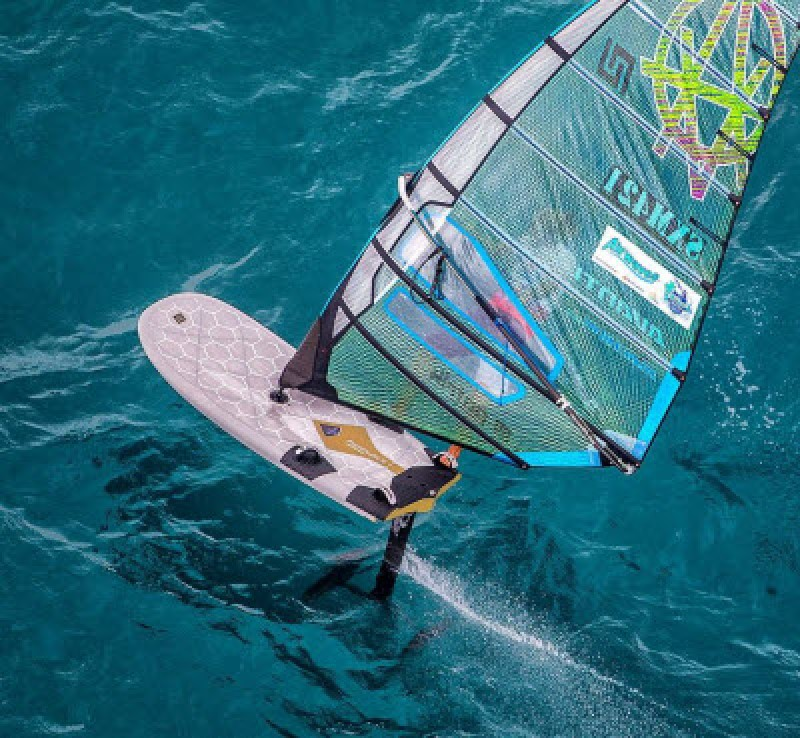 The AFS Wind 105 is a windfoil engineered to race with unprecedented profiles and dimensions