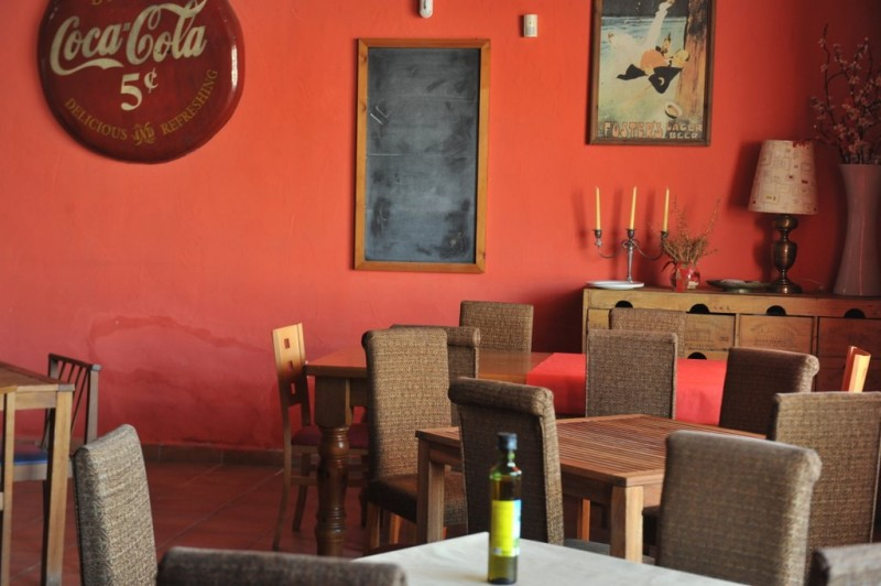 Menú del Día at Antipodas in La Azohía; a meal with a view