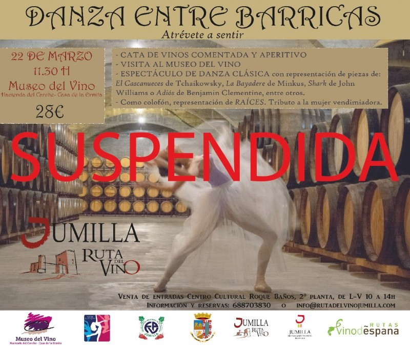 <span style='color:#780948'>ARCHIVED</span> - Jumilla cancels guided tours, cultural activities and closes day centres for the elderly