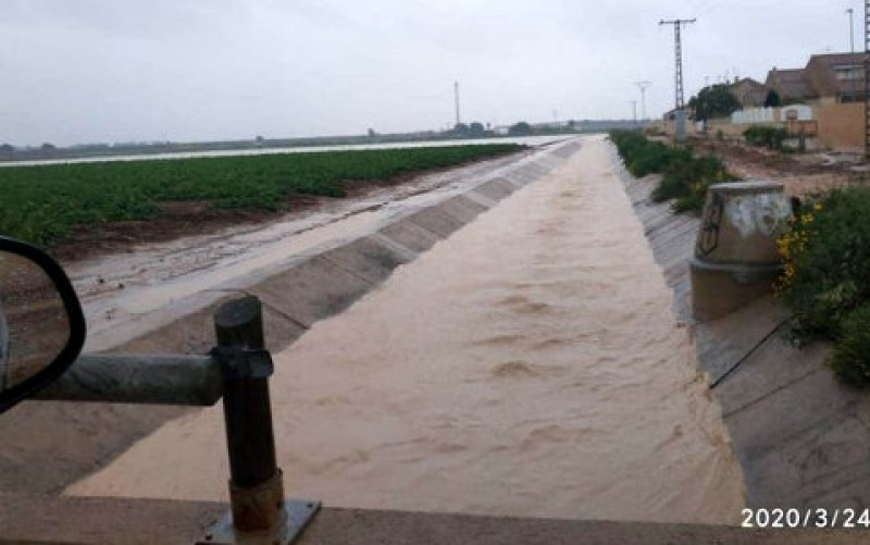 <span style='color:#780948'>ARCHIVED</span> - 100 mm of rain falls close to Cartagena overnight