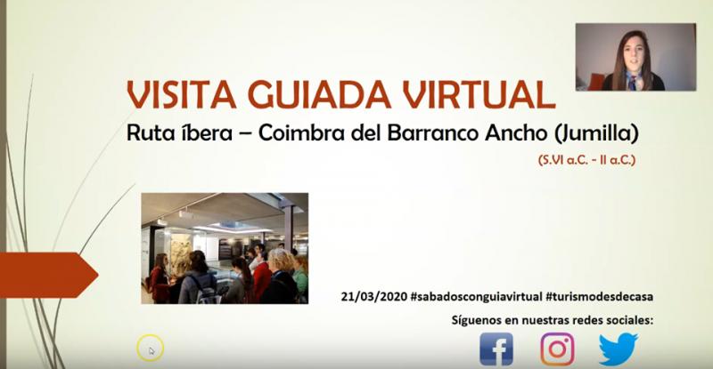 Virtual guided tour of the Coimbra del Barranco Ancho in Jumilla