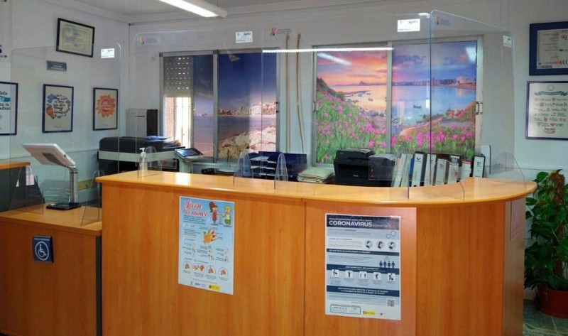 <span style='color:#780948'>ARCHIVED</span> - Águilas re-opens tourist information office
