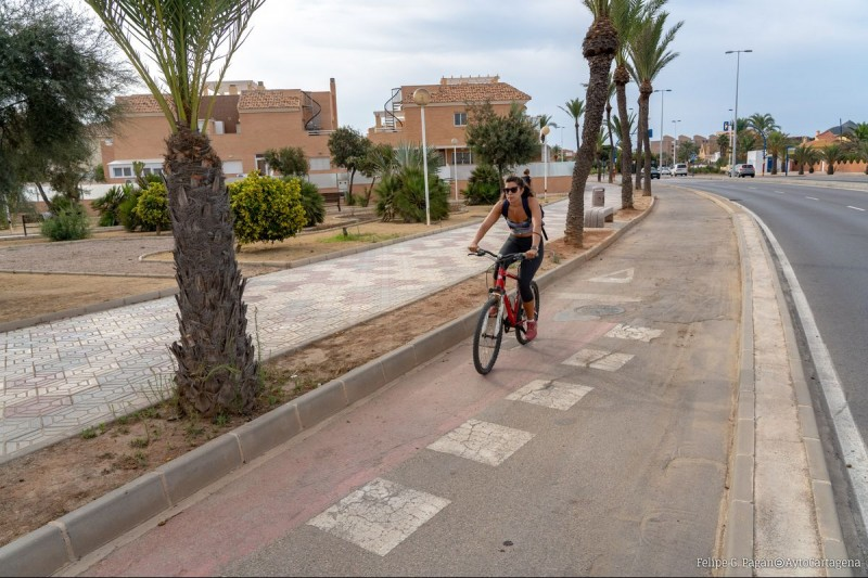 <span style='color:#780948'>ARCHIVED</span> - 18km long continuous cycle lane for La Manga del Mar Menor
