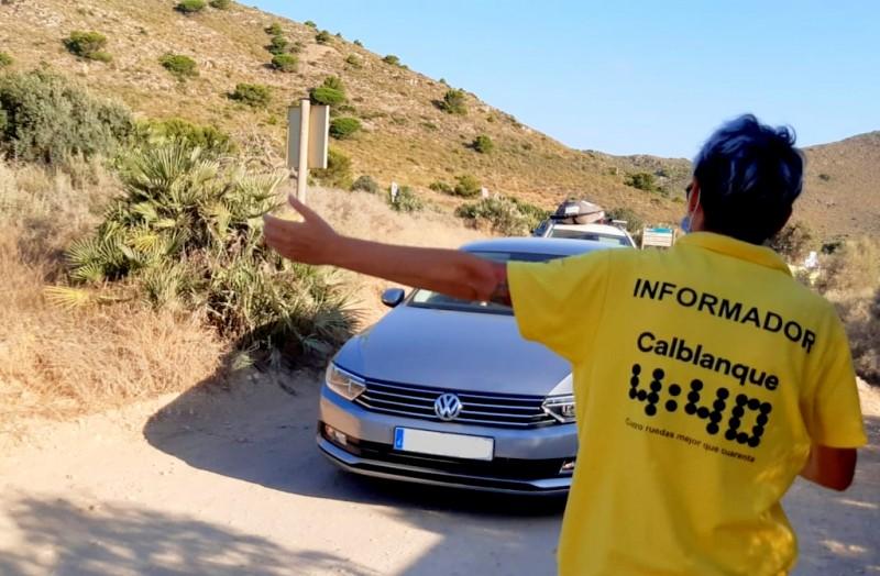 Access controls begin for Calblanque Regional Park, Monte de las Cenizas and Peña del Águila