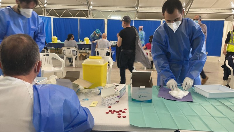 <span style='color:#780948'>ARCHIVED</span> - Mass vaccination of Mar Menor residents continues