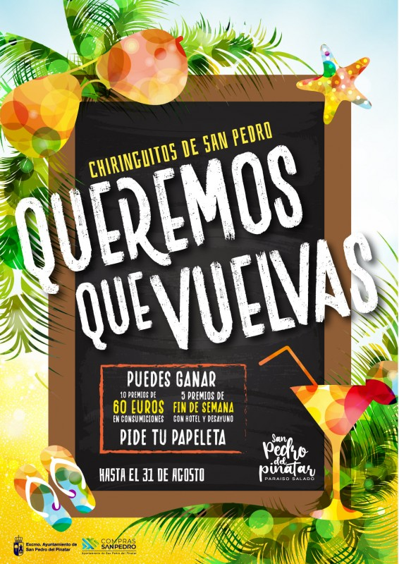 <span style='color:#780948'>ARCHIVED</span> - San Pedro del Pinatar beach bars launch meal and hotel raffle promotion