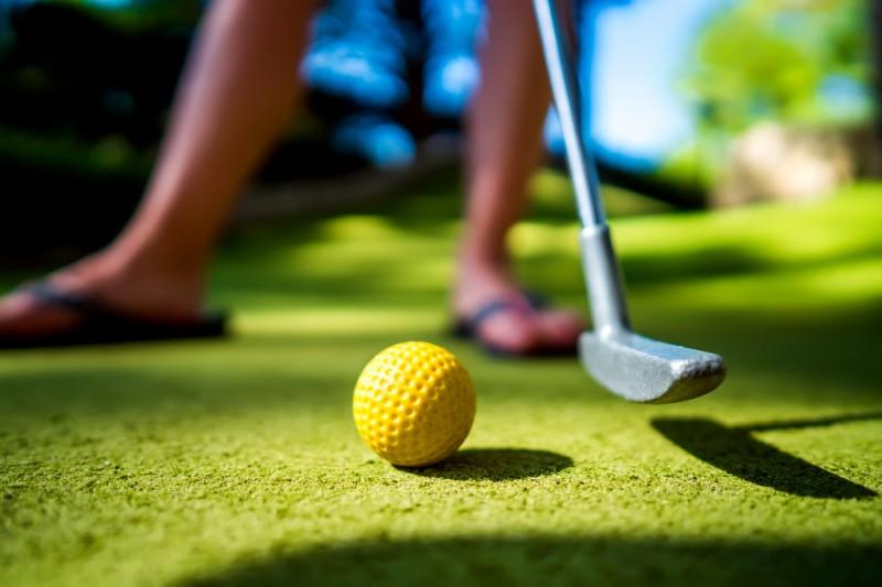 La Manga Adventure Golf fun for all the family near to Playa Honda and Cabo de Palos