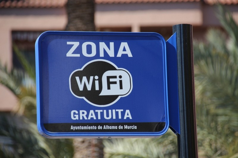 <span style='color:#780948'>ARCHIVED</span> - Alhama de Murcia council installs 14 free WiFi points in local parks