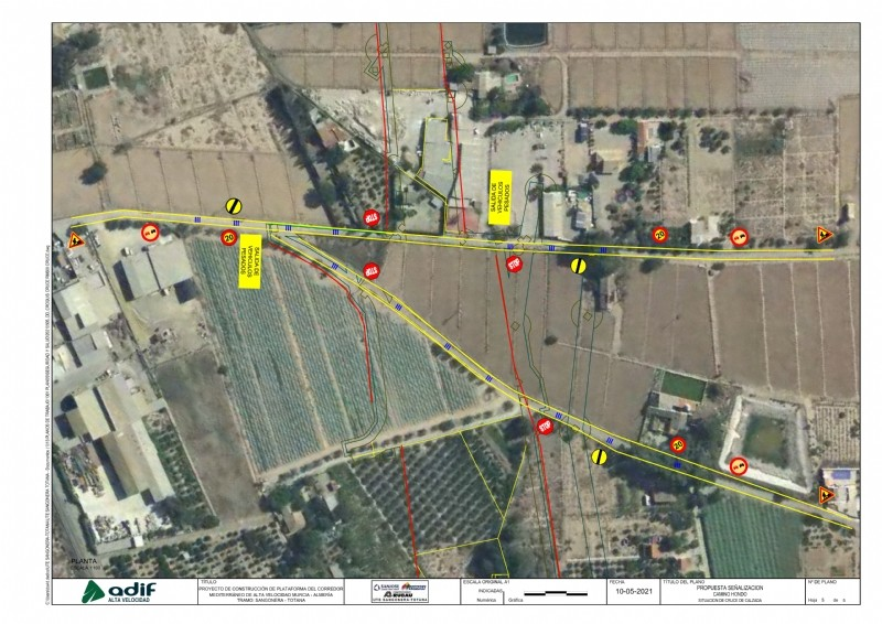 <span style='color:#780948'>ARCHIVED</span> - Works begins on the AVE rail line in Alhama de Murcia with inevitable disruption