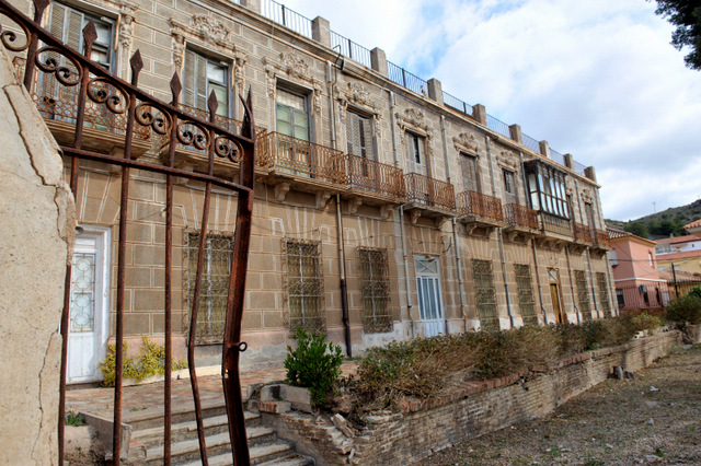 La casa del Tío Lobo in Portmán