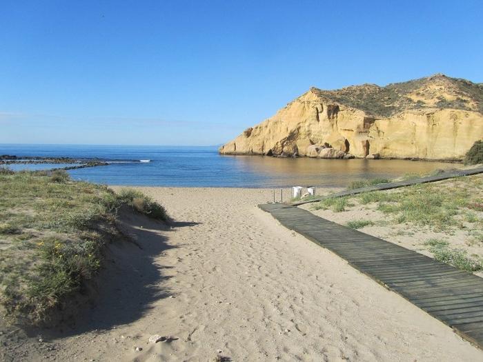 Águilas beaches: Calacerrada or Playa de los Cocedores