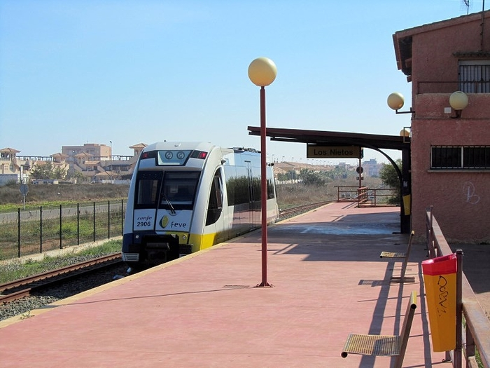 Train services Los Nietos - La Unión - Cartagena