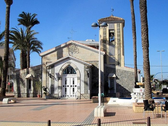 Church in Los Urrutias