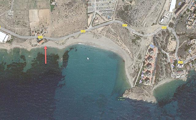 Mazarrón beaches: Playa de la Raja