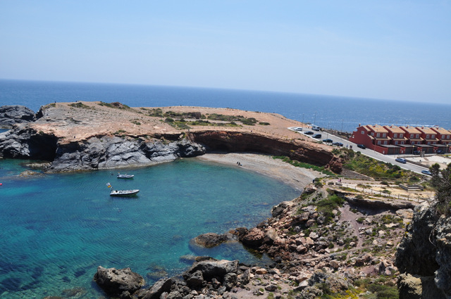 Cabo de Palos, visiting the lighthouse and marina area, a great ride out for bikers.