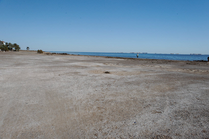 San Javier beaches: Playa de la Hita