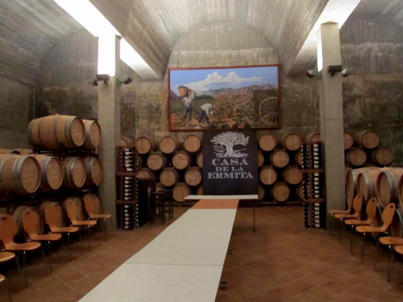 Jumilla wine route: Bodega Casa de la Ermita / Hacienda del Carche