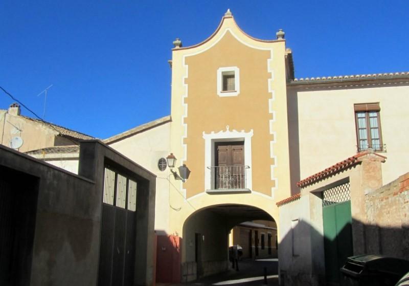 Arco de San Roque or Puerta de Granada in Jumilla