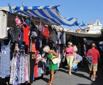 Mazarrón outdoor and indoor markets