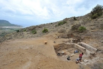 Uncovering the Cabezo del Pino Roman site in La Unión