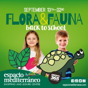 Espacio Mediterraneo Back to School Banner