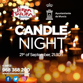Terra Natura Candle Night September banner
