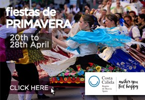 Murcia Turistica Branded Agenda banner 2
