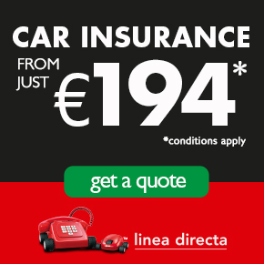 Linea Directa CAR INSURANCE Weather Lifestyle and Community TOP OF PAGE