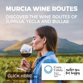 Murcia Turística Wine Whats on column banner