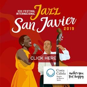 San Javier Jazz Banner