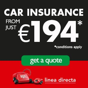 Linea Directa CAR INSURANCE LEFT column A-L Sponsor