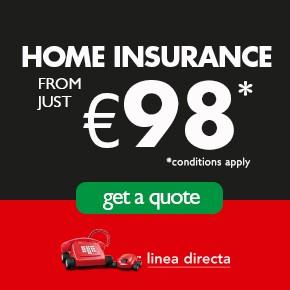 Linea Directa HOME INSURANCE Left Column
