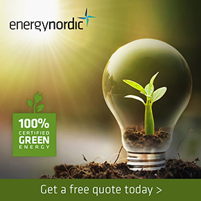 Energy Nordic Banner home page