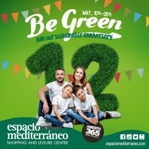 Espacio Mediterraneo Be Green Sponsors Banner